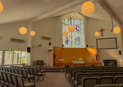 Church Auditorium eastward 1